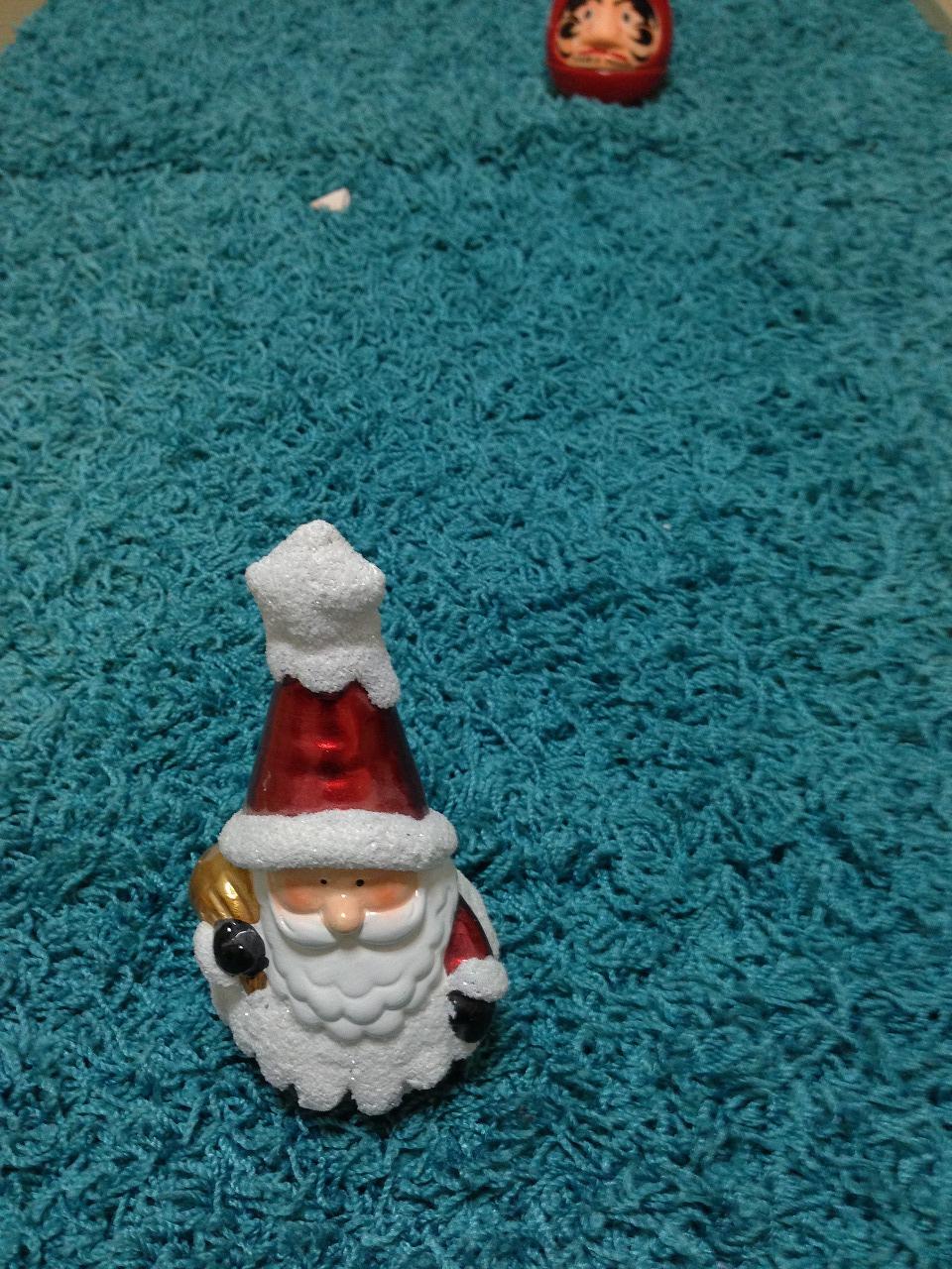 サンタクロースがやってきました。