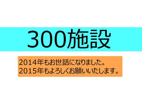 【プレスリリース】お取引施設様が300施設様になりました。